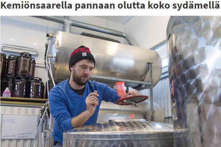 Kemiönsaarella pannaan olutta koko sydämellä – Kaupunkimedia Aamuset – Finland